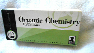 Organic Chemistry Study Cards by Vis-Ed  VG Condition