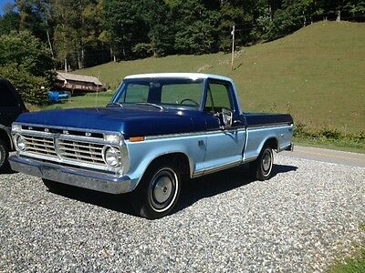 1974 Ford F-100  1974 Ford F100 with 4,339 original miles!