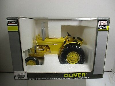 1/16 Scale Speccast Oliver Limited Edition 880 Twin Engine Industrial Tractor