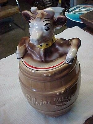Vintage Elsie The Borden Cow Cookie Jar. Original Pottery Guild Of America