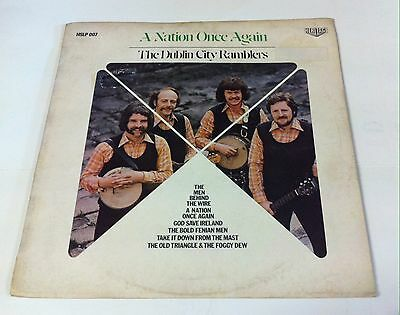 Dublin City Ramblers. A nation once again. Heritage records. HSLP 007. Lp.