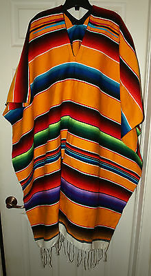 New Authentic Mexican Poncho