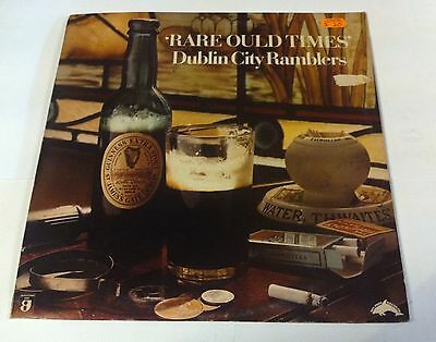 Dublin City Ramblers. Rare ould times. Dolphin records. DOLM 5025. Lp.
