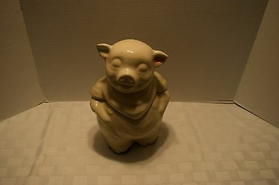 Vintage Shawnee Ceramic Pig Cookie Jar