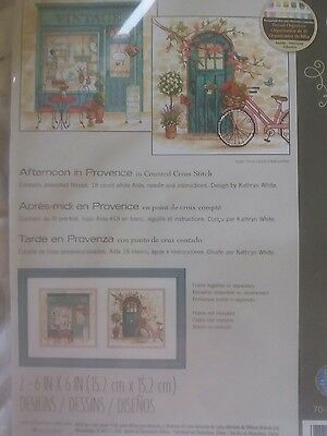 cross stitch kit dimensions afternoon in provence