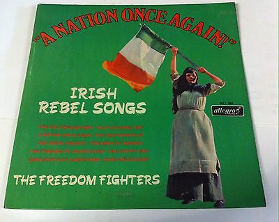 The Freedom Fighters. A nation once again. Allegro records. ALL 869. Lp