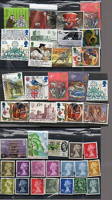 Collection Of Mainl G.b.used Stamps Well Worth Having