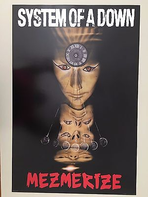 System Of A Down,mezmerize,music Band,rare Authentic Licensed 2005 Poster