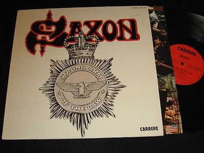 SAXON: Strong Arm Of The Law LP Carrere 2934129 OIS Germany 1980