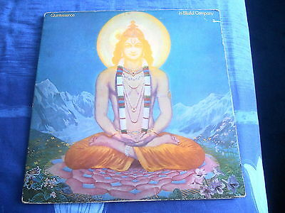 Quintessence,in Blissful Company,1969 Pink Island,g/f W/book,prog,vg+ Plays Ex.