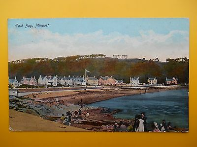 Houses & Beach East Bay MILLPORT Great Cumbrae Bute *Vintage* 1916