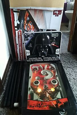 Star Wars Pinball Game Table Machine Lights and Sounds Battery/mains