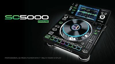 Denon Dj Sc 5000 Prime Media Player Usb Audio Card Display New