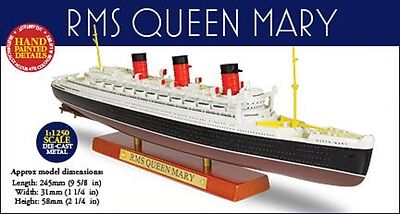 Atlas Editions RMS Queen Mary BOXED WITH CERTIFICATE