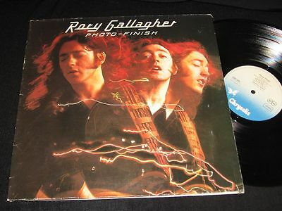 RORY GALLAGHER: Photo Finish LP Chrysalis 6307620 Germany 1978
