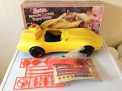 Vintage Barbie Car