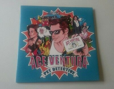 Ace Ventura Pet Detective soundtrack limited split coloured vinyl record
