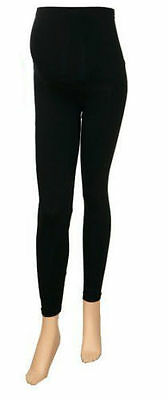 Ladies Women Black Maternity Leggings Pregnancy Trouser Very Relaxed Comfortable