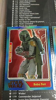 topps journey to star wars limited edition boba fett