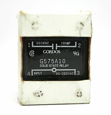 GORDOS G575A10 Solid State Relay 90-280VAC INPUT 660VAC OUTPUT 10A