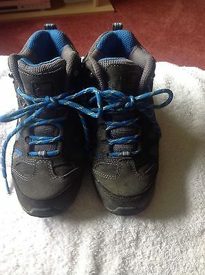 Child's size 13 walking boots by Karrimor.
