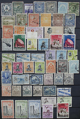 Collection of Stamps from Haiti