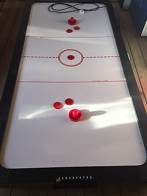 AIR HOCKEY GAMES TABLE, Electric, 7ft X 3.5ft, Removable Legs