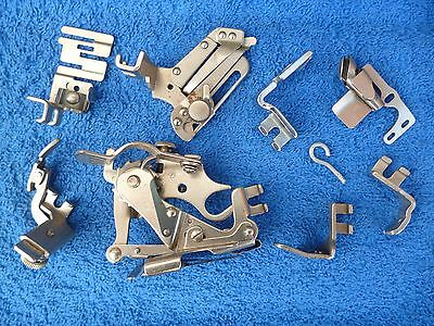 Singer Sewing Machine Accessories in Original Vintage Box, Spares or Repair.