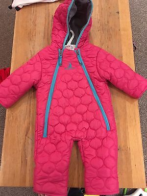 Rugged Bear Girls Snowsuit Age 6-9 Months