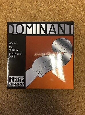 Thomastik-Infeld Dominant 135 4/4 Violin Strings -Full Set