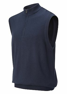 Greg Norman Lined 1/4 Golf Zip Vest