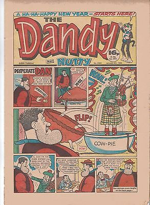 The Dandy And Nutty Comic January 4Th 1986 – Desparate Dan – Korky – The Smasher