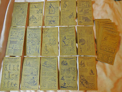 Vintage Nabisco Straight Arrow Indian Cards book 1