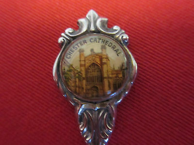 """""""Chester Cathedral"""" Silver Plated Spoon"""