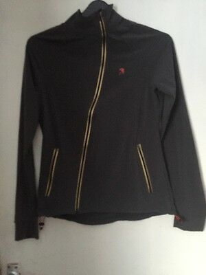 Lightweight Lornah Ladies Grey Running Jacket Size M (12)(187)