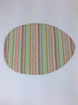 Longaberger Table Oval Easter Egg Centerpiece Fabric