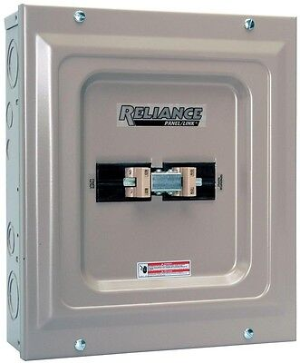 Reliance Controls 60 Amp Utility Generator Transfer Switch Light Equipment