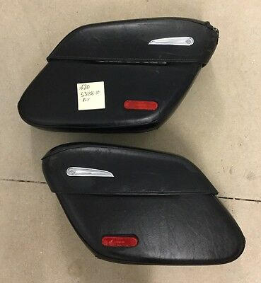 A20 Used Genuine Harley Davidson Sportster Saddle Bags Leather Covered