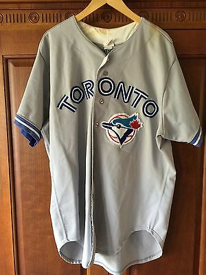 MLB Toronto Blue Jays Game Worn Danny Cox #50 Jersey -1993 Jays WS Champion