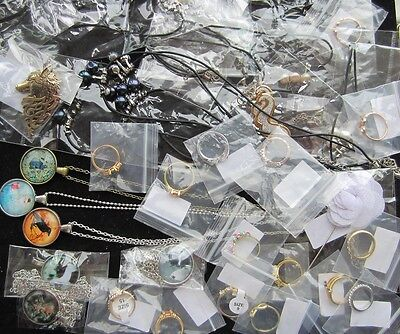 Job lot of 32 Jewellery Items. Clearance, market stall, car boot. NEW