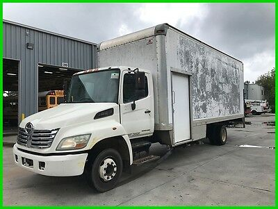 2008 Hino 258 Low Pro, 24 Box, Lift Gate, Roll-Up Door Used 24 Foot **AS-IS**