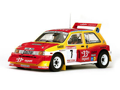 MG METRO 6R4 EXPORT CAR #33 D.AURIOL - Sunstar H5532 - 1/18 SCALE DIECAST
