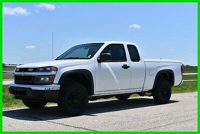 2008 Chevrolet Colorado  2008 Chevy Colorado Extended Cab 4x4 -Low Reserve!