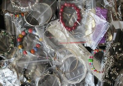 Job lot of 28 Assorted Bracelets. Clearance, market stall, car boot. NEW