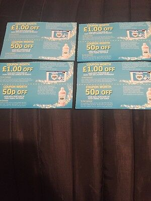 Fairy Liquid Laundry Detergent Fabric Softener Money Off Coupons Vouchers
