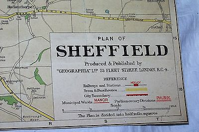Sheffield City Map by Geographia