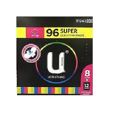 NEW U by Kotex Ultrathins Super 96 count from Fairdinks