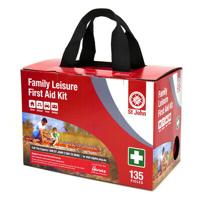 NEW St John Ambulance Family Leisure First Aid Kit from Fairdinks