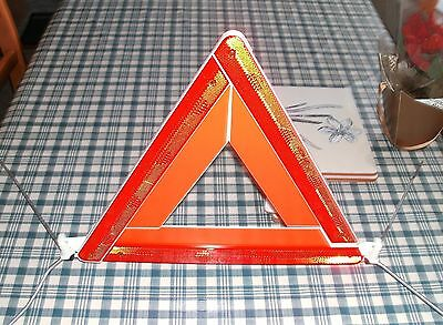 Vehicle Folding Red Warning Triangle. Emergency Breakdown, Perfect For Europe