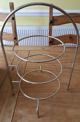Tier Cake Plate Stand 43cm to hold 3x 25cm Plates - Afternoon Tea Stand